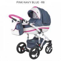 Adamex Vicco Pink-Navy Blue 2 în 1