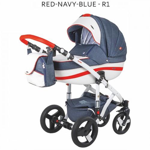 Adamex Vicco Red-Navy-Blue 2 în 1